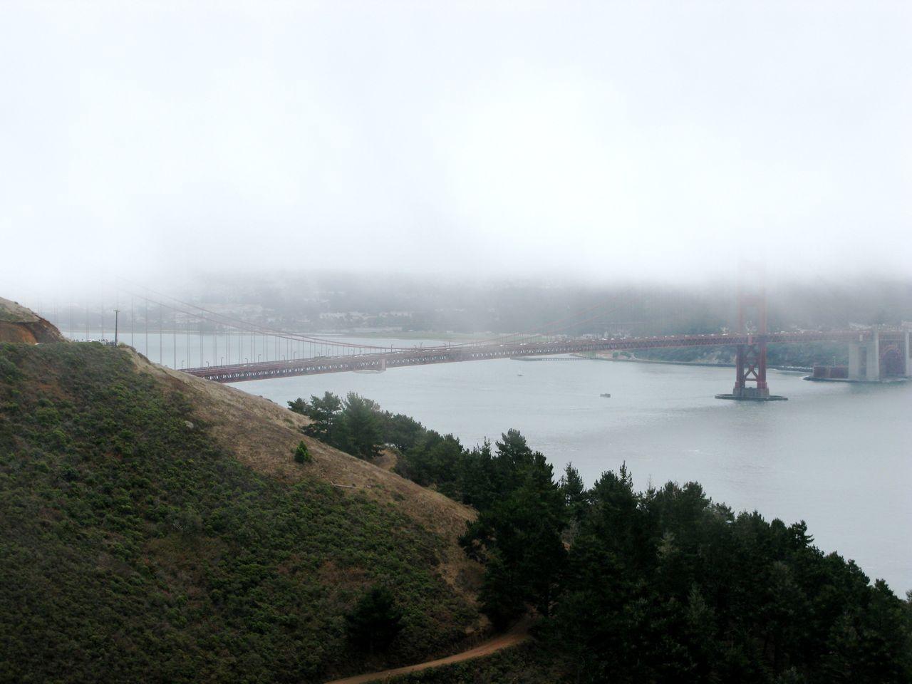 Golden Gate Bridge from across the bay