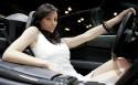 Hot Chick in a Lamborghini