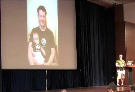 Lloyd Budd at WordCamp