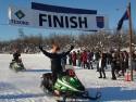 Todd Palin's Irondog Snow Machine Championship