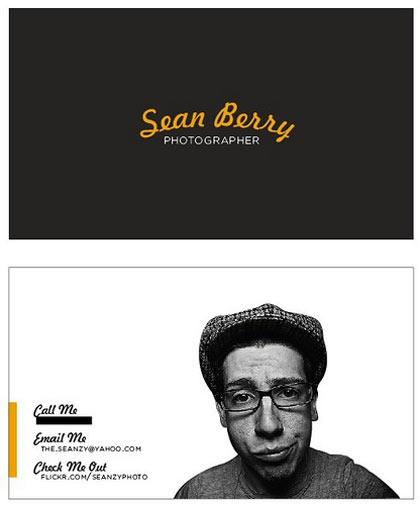 photographer business card photographer business card