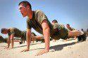 Marines Doing Pushups!