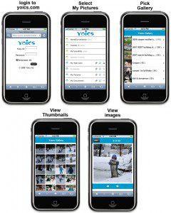 Yoics iPhone Access
