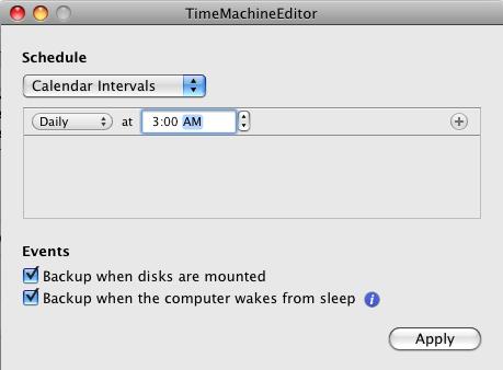 Time-Machine-Editor