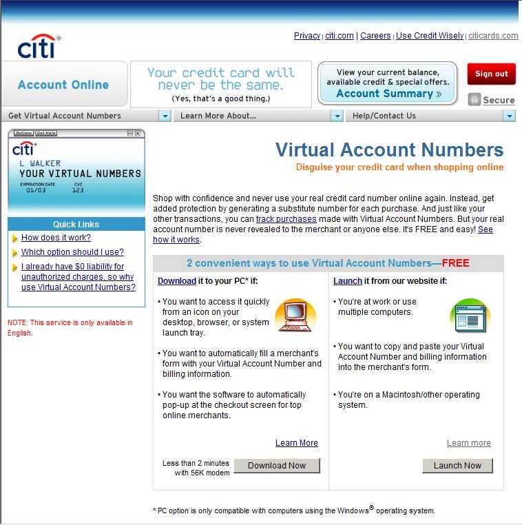 Costco Citibank Credit Card Login Account Online